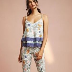 Floreat Loved By Anthropologie Floral Lace Tank Sm